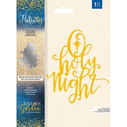 Crafter's Companion - Nativity Collection - O Holy Night Die