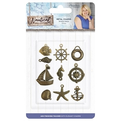 Crafter's Companion - Nautical Collection by Sara Davies - Metal Charms