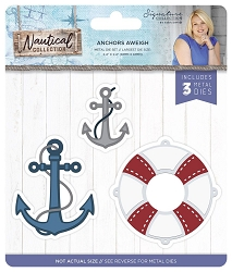 Crafter's Companion - Nautical Collection by Sara Davies - Anchors Aweigh Die