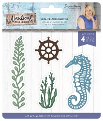 Crafter's Companion - Nautical Collection by Sara Davies - Sealife Accessories Die