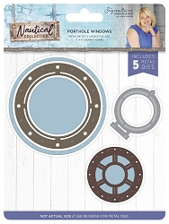 Crafter's Companion - Nautical Collection by Sara Davies - Porthole Windows Die