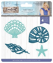 Crafter's Companion - Nautical Collection by Sara Davies - Fancy Shells Die