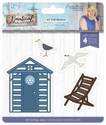 Crafter's Companion - Nautical Collection by Sara Davies - At the Beach Die