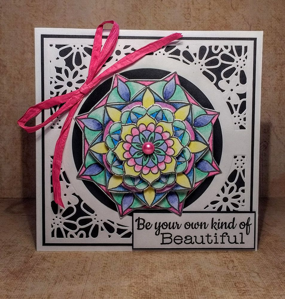 Crafter's Companion - Mandala Stamp & Die Sets