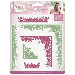 Crafter's Companion - Parisian Collection by Sara Davies - Floral Borders and Corners Die
