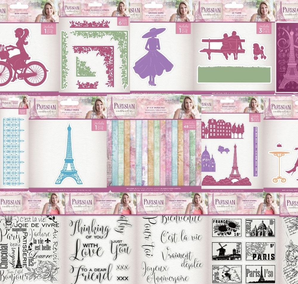 Parisian Collection by Sara Davies