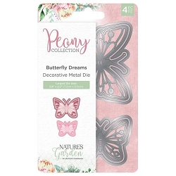 Crafter's Companion - Peony Collection - Butterfly Dream Die Set