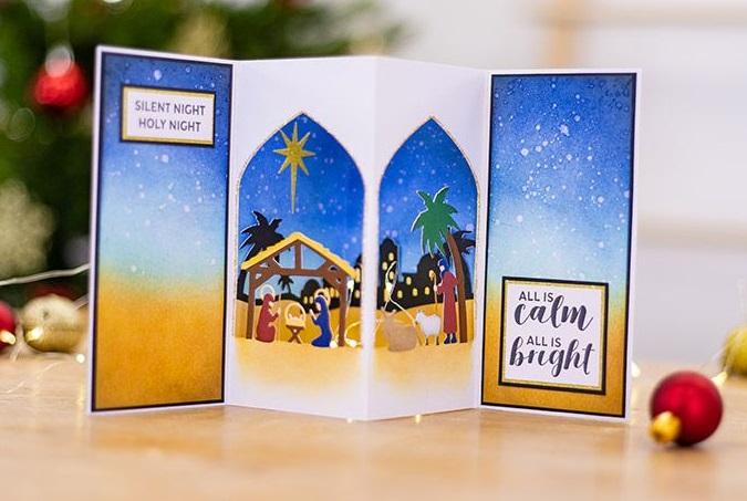 Crafter's Companion - Nativity of Light Die