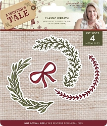 Crafter's Companion - A Winter's Tale Collection by Sara Davies - Classic Wreath Die