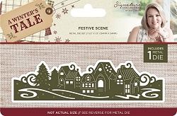 Crafter's Companion - A Winter's Tale Collection by Sara Davies - Festive Scene Die