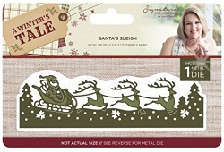 Crafter's Companion - A Winter's Tale Collection by Sara Davies - Santa's Sleigh Die