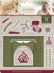 Crafter's Companion - A Winter's Tale Collection by Sara Davies - By The Fireside Die