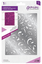Crafter's Companion - Gemini Collection - Grande Swirls Create-a-Card Die