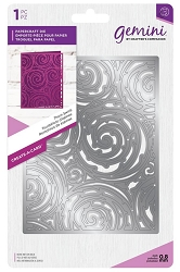 Crafter's Companion - Gemini Collection - Thorn Swirls Create-a-Card Die