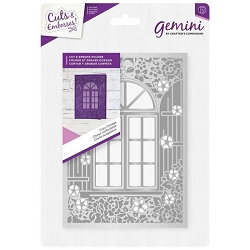 Crafter's Companion - Gemini Collection - Cozy Cottage Cut & Emboss Folder