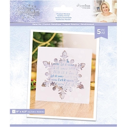 Crafter's Companion - Glittering Snowflakes Collection by Sara Davies - Frosted Window Die