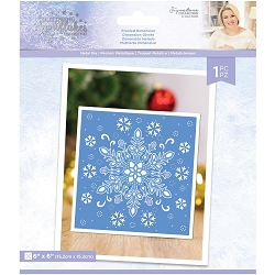 Crafter's Companion - Glittering Snowflakes Collection by Sara Davies - Frosted Dimension Die