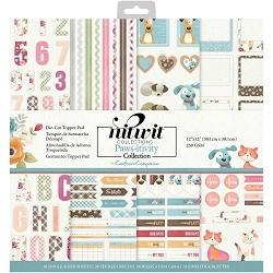 Crafter's Companion - Nitwit Paws-itivity Die-Cut Topper 12