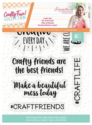 Crafter's Companion - Crafty Fun! Collection by Sara Davies - Craft Life Clear Stamps
