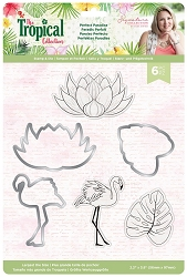 Crafter's Companion - Tropical Collection by Sara Davies - Perfect Paradise Stamp & Die