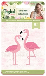 Crafter's Companion - Tropical Collection by Sara Davies - Flamingo Friends Die