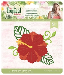 Crafter's Companion - Tropical Collection by Sara Davies - Hawaiian Hibiscus Die