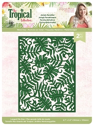 Crafter's Companion - Tropical Collection by Sara Davies - Jungle Paradise Die