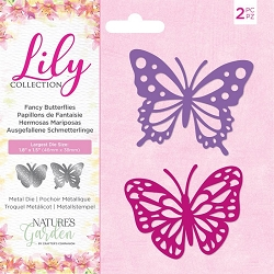 Crafter's Companion - Lily Collection - Fancy Butterflies Die