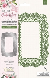 Crafter's Companion - Beautiful Butterflies Collection - Intricate Lace Frame Die
