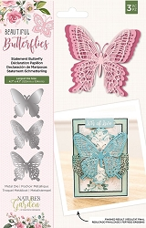 Crafter's Companion - Beautiful Butterflies Collection - Statement Butterfly Die