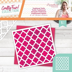 Crafter's Companion - Crafty Fun! Collection by Sara Davies - Traditional Trellis 6