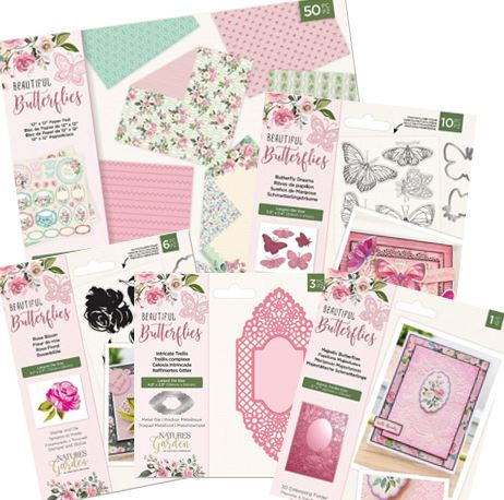 Nature's Garden Beautiful Butterflies Collection