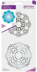 Crafter's Companion - Harmony Mandala Clear Stamp & Die Set