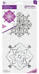 Crafter's Companion - Cosmic Mandala Clear Stamp & Die Set