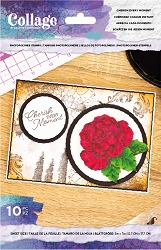 Crafter's Companion - Cherish Every Moment Collage Clear Stamps