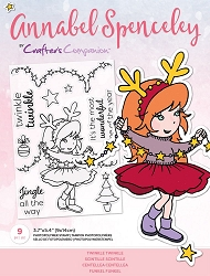 Crafter's Companion - Twinkle Twinkle Annabel Spenceley Clear Stamps