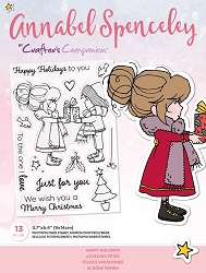 Crafter's Companion - Happy Holidays Annabel Spenceley Clear Stamps