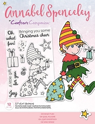 Crafter's Companion - Oh What Fun Annabel Spenceley Clear Stamps