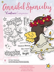 Crafter's Companion - Be Merry And Bright Annabel Spenceley Clear Stamps
