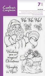 Crafter's Companion - Ho Ho Ho! Clear stamp