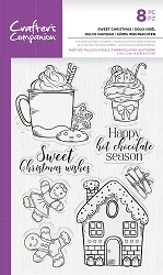 Crafter's Companion - Sweet Christmas Clear stamp