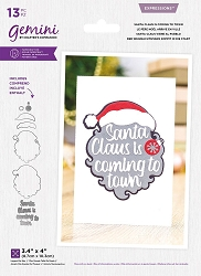 Crafter's Companion - Santa Claus Is Coming To Town Layered die