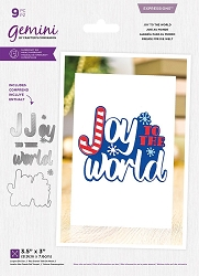 Crafter's Companion - Joy To The World Layered die