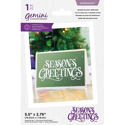 Crafter's Companion - Grande Season's Greetings die