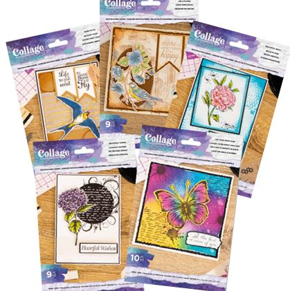 Crafter's Companion - Collage stamps