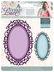 Crafter's Companion - Vintage Lace Collection by Sara Davies - Baroque Frames Die Set
