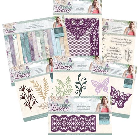 Vintage Lace Collection by Sara Davies
