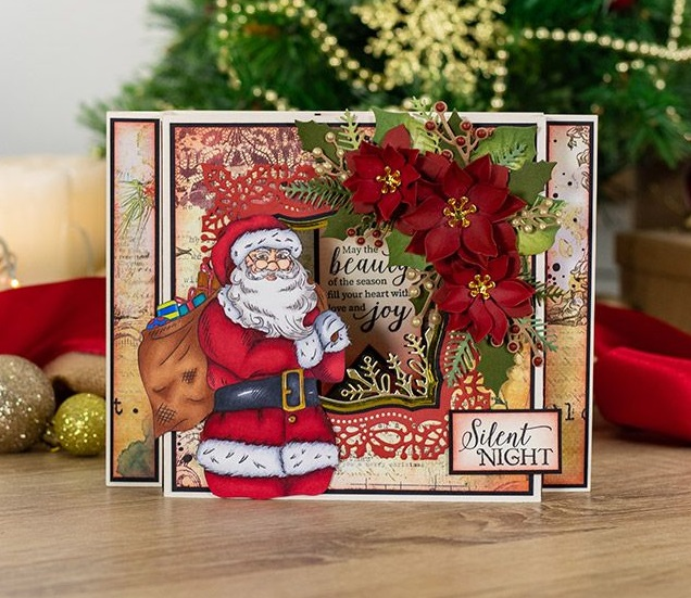 Crafter's Companion - Nature's Garden Vintage Christmas collection