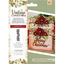 Crafter's Companion - Vintage Christmas Nature's Garden - Enchanted Ivy Die