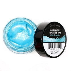 Crafter's Companion - Light Turquoise Spectrum Noir Metallic Wax